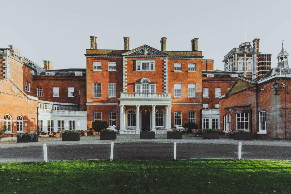 The grand Birch Hertfordshire Mansion Exterior