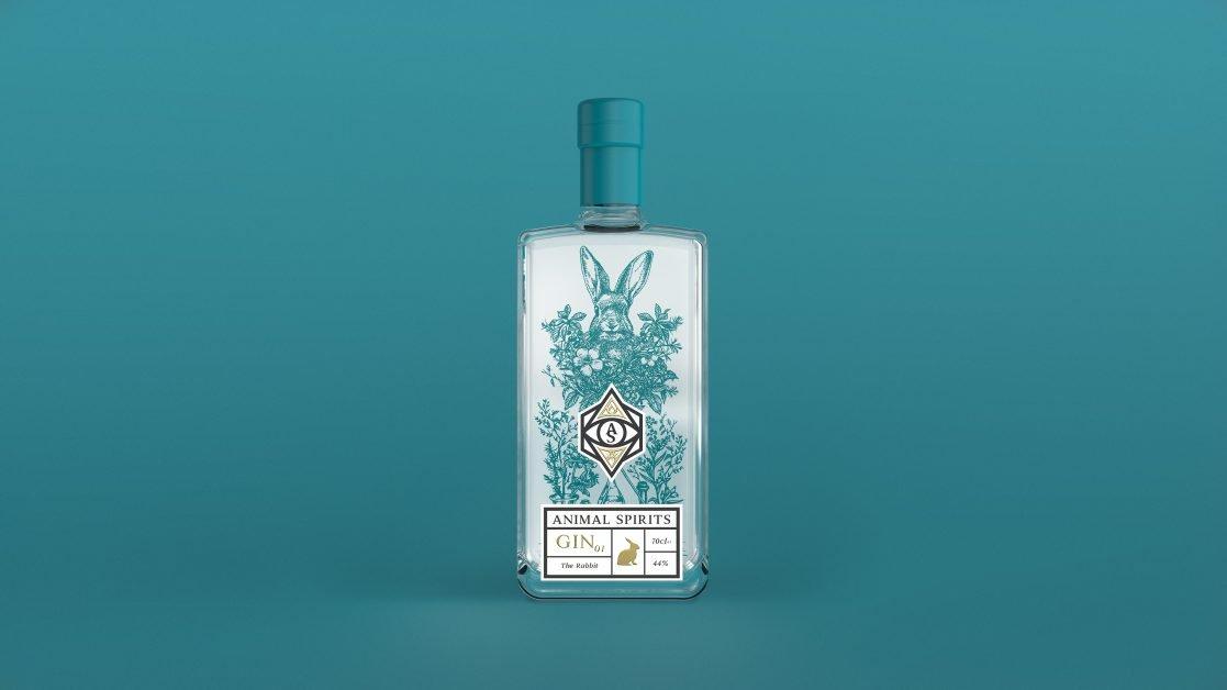 Animal Spirits Rabbit Gin new gin