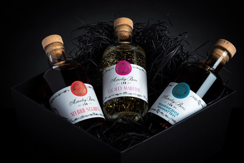 Asterley Bros 'Three Kings' cocktail collection