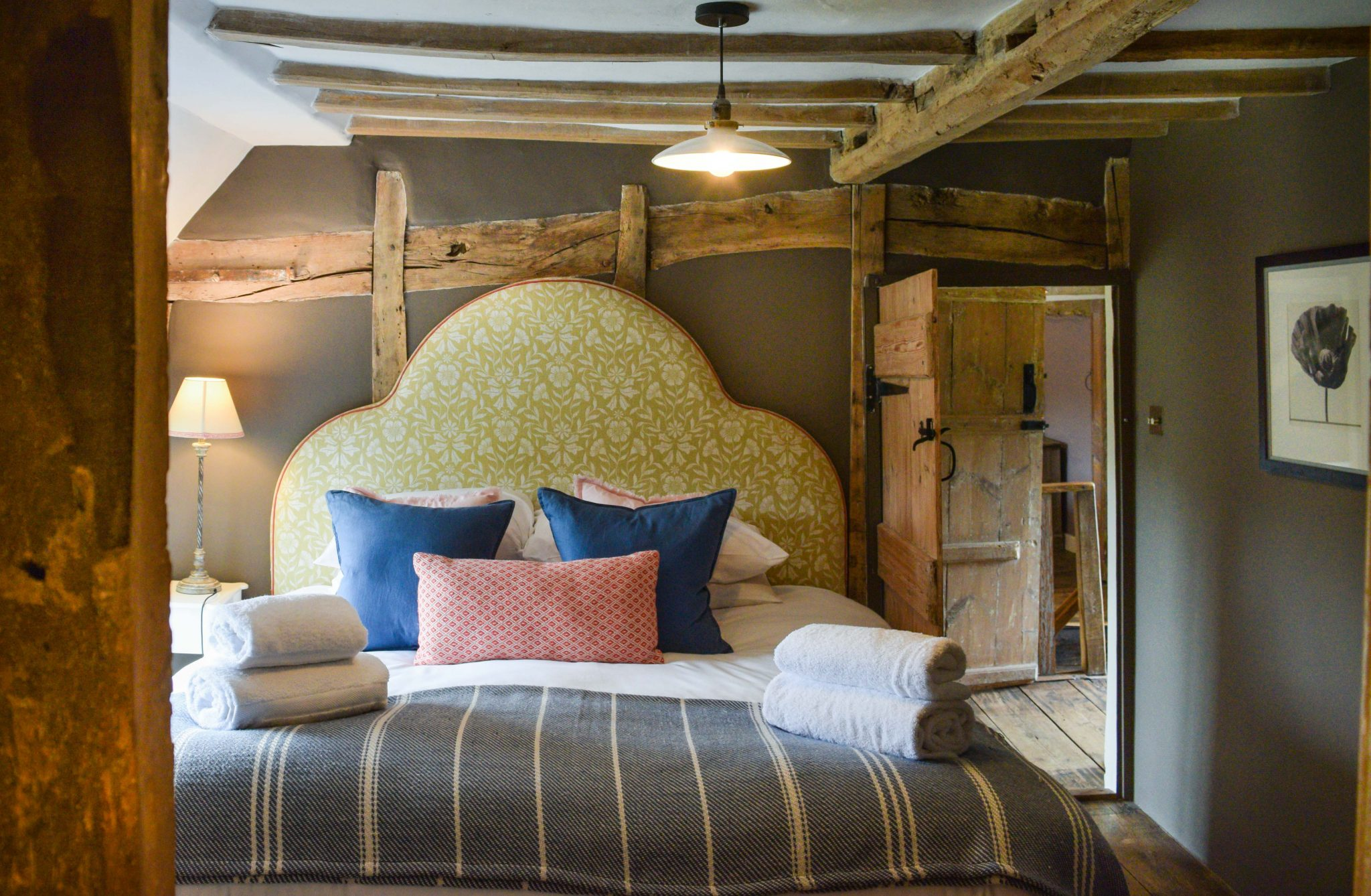 The Farmhouse bedroom at Retreat East in Suffolk