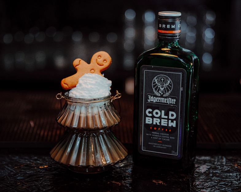 Jägermeister Cold Brew drink
