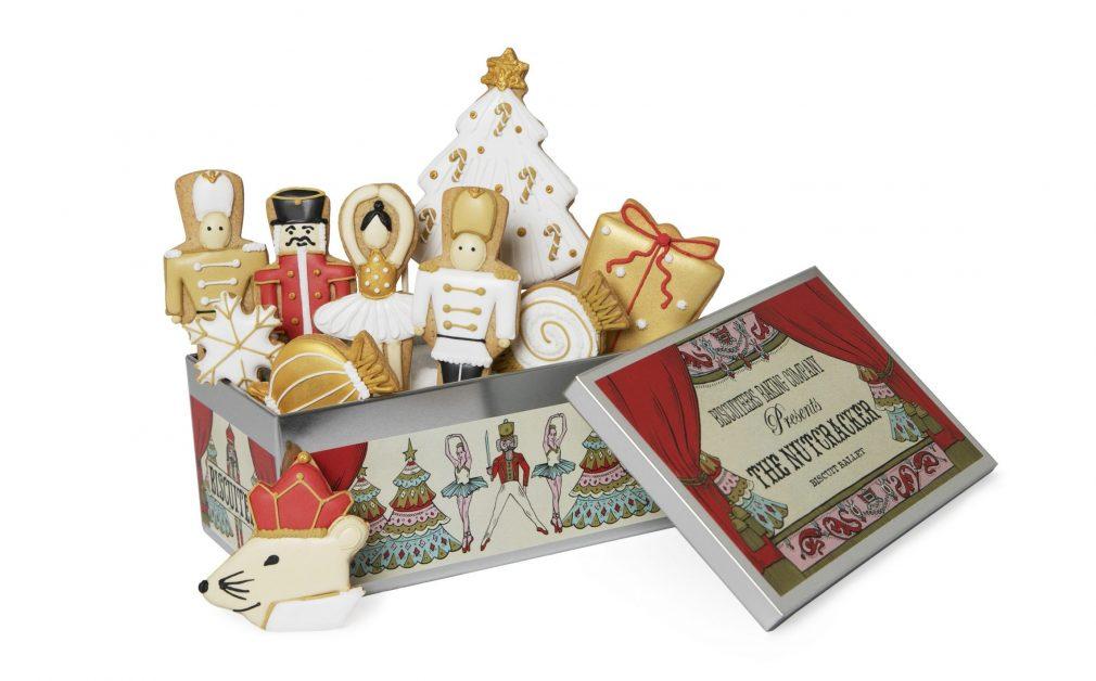 Christmas hamper 2020 Biscuiteers nutcracker biscuit tin
