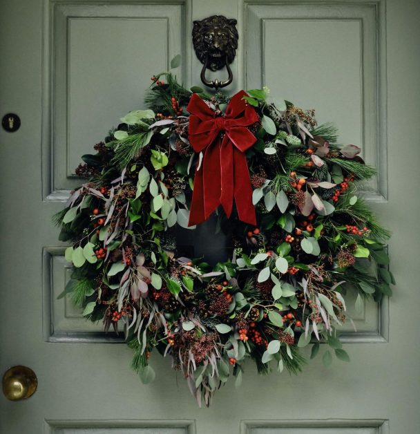 Classic Wreath by Soho Home and FLOWERBX