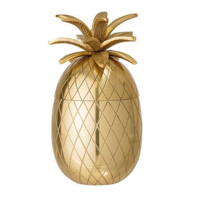 Bar accessories Gold pineapple ice bucket