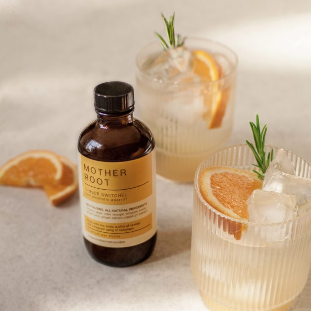Non-alcoholic drinks dry January Mother Root