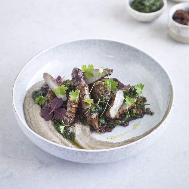 Vegan recipes Jerusalem artichokes