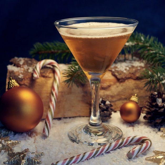 Christmas cocktails Christmas Stocking Spritz