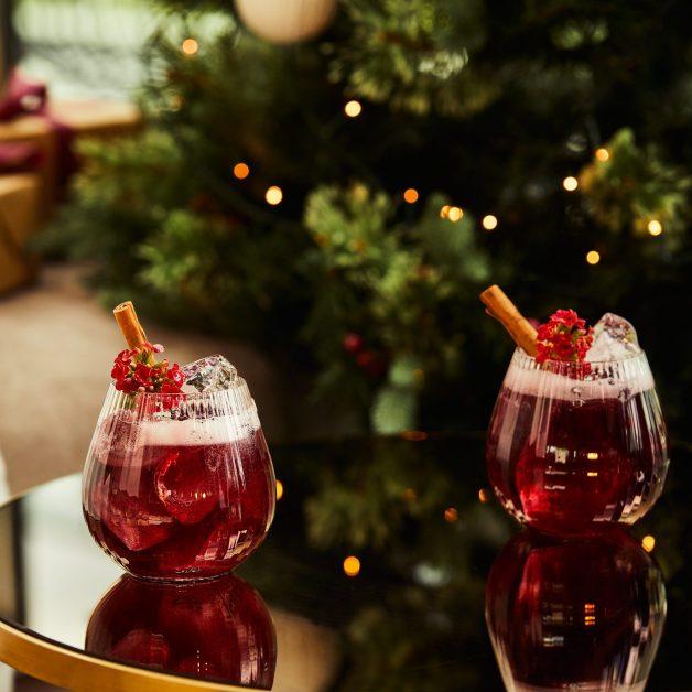Christmas cocktails make at home Mistletoe Mule
