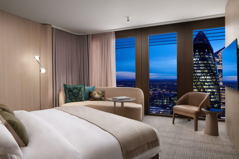 New Pan Pacific hotel London