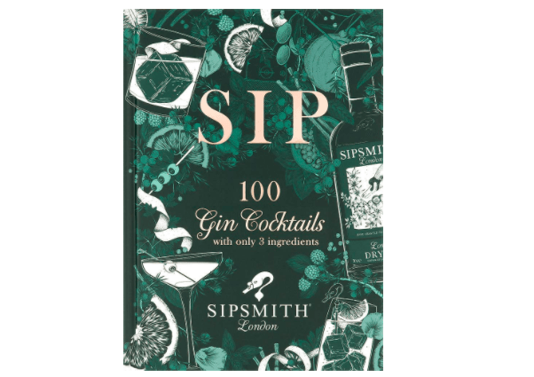 Cocktail making book Sipsmith gin