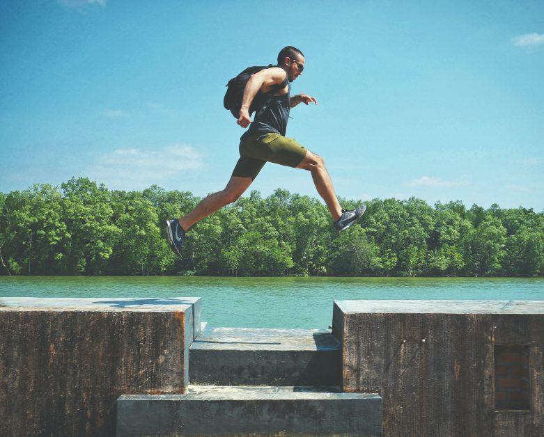 Fitness trends 2021 - adventure fitness