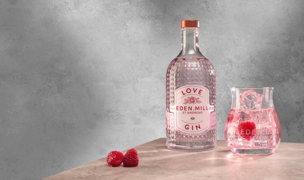 Eden Mill Love Gin Valentines Day