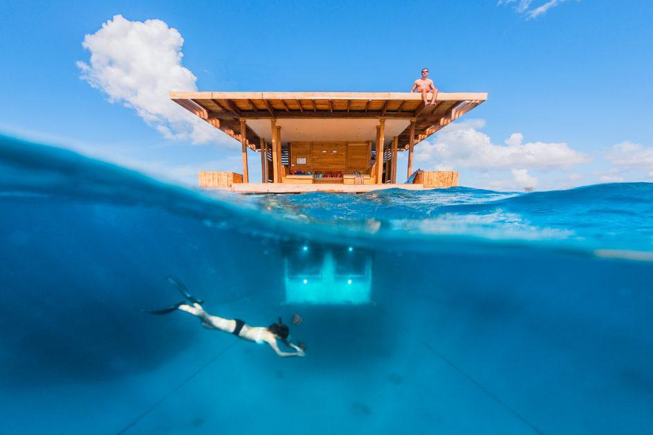 Bucketlist travel Underwater hotel Zanzibar