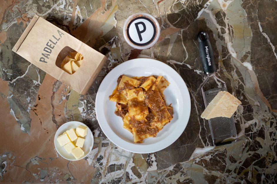 Padella Pasta Kit restaurant delivery