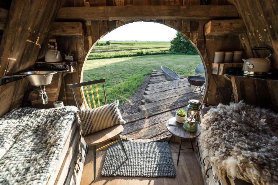 Unusual stays Glamping Boat Shack