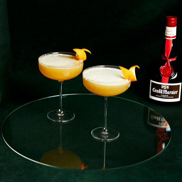 Valentine's cocktails Grand Marnier 75
