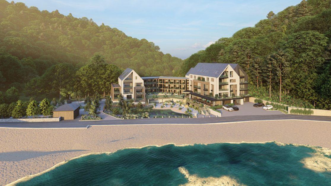 New hotel opening 2021 Harbour Beach Club Salcombe Devon