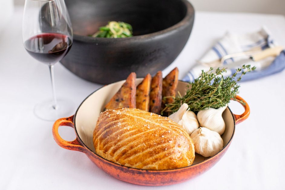 Valentine's meal kits Bluebird at home