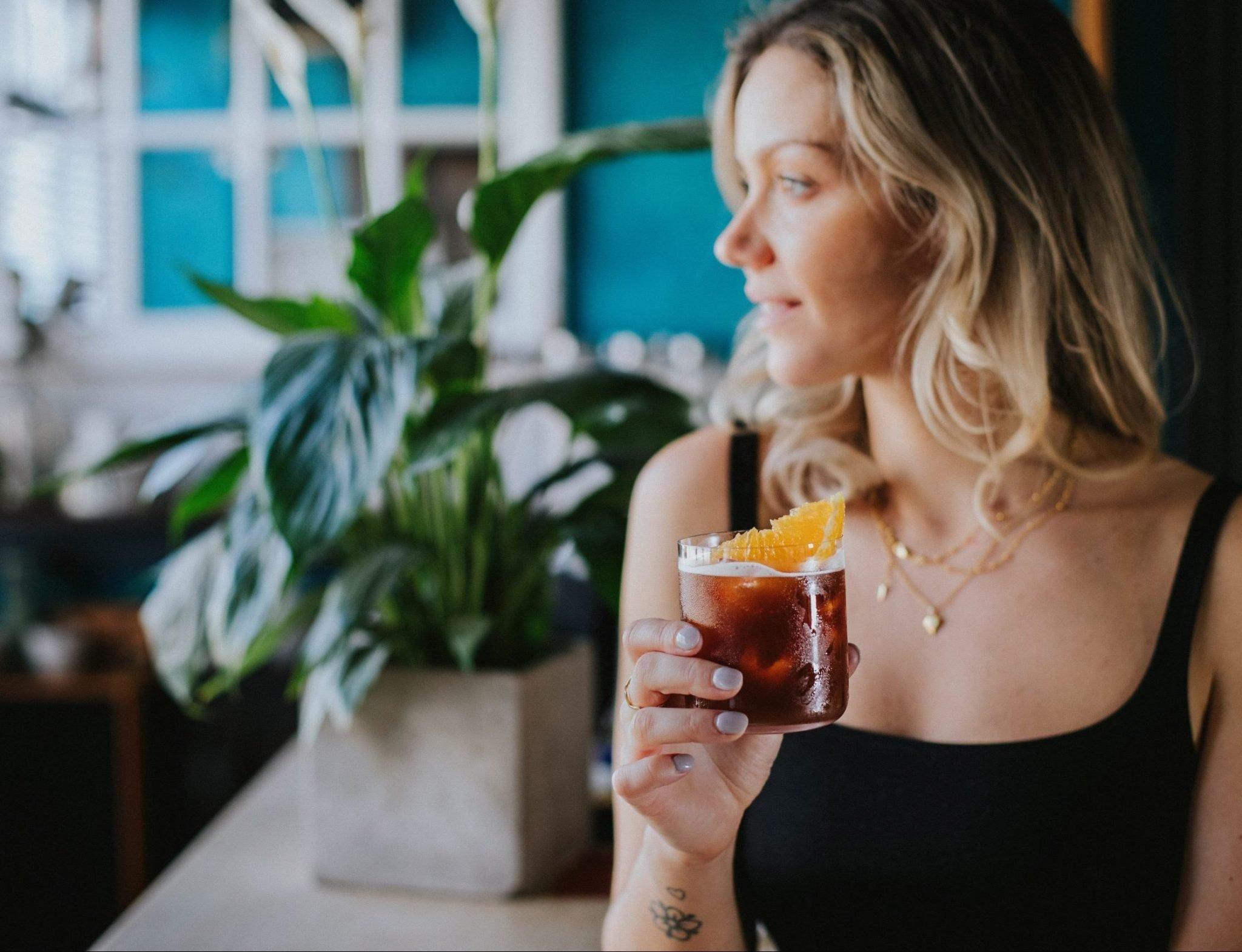 Mindful drinking La Maison Wellness founder Camille Vidal