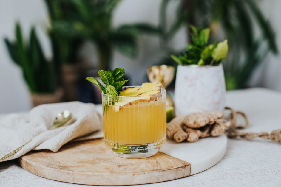 Mindful drinking cocktail