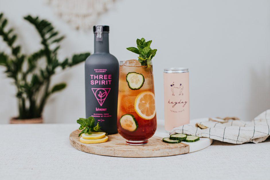 MIndful drinking cocktail La Maison Wellness