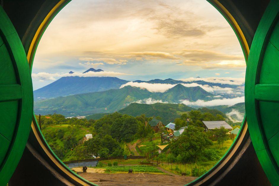 Guatemala hobbit house with amazing views bucketlist travel