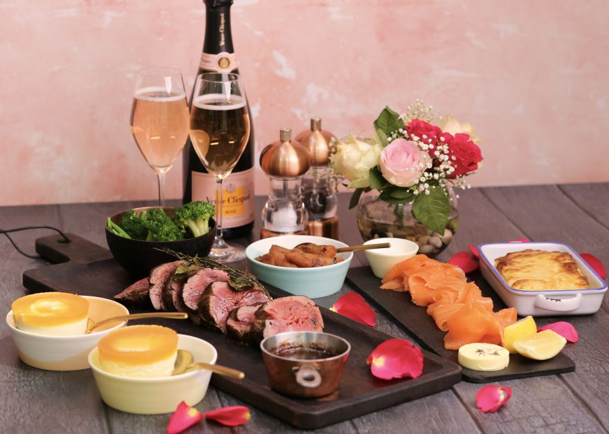 Valentine's meal kits by Noble House