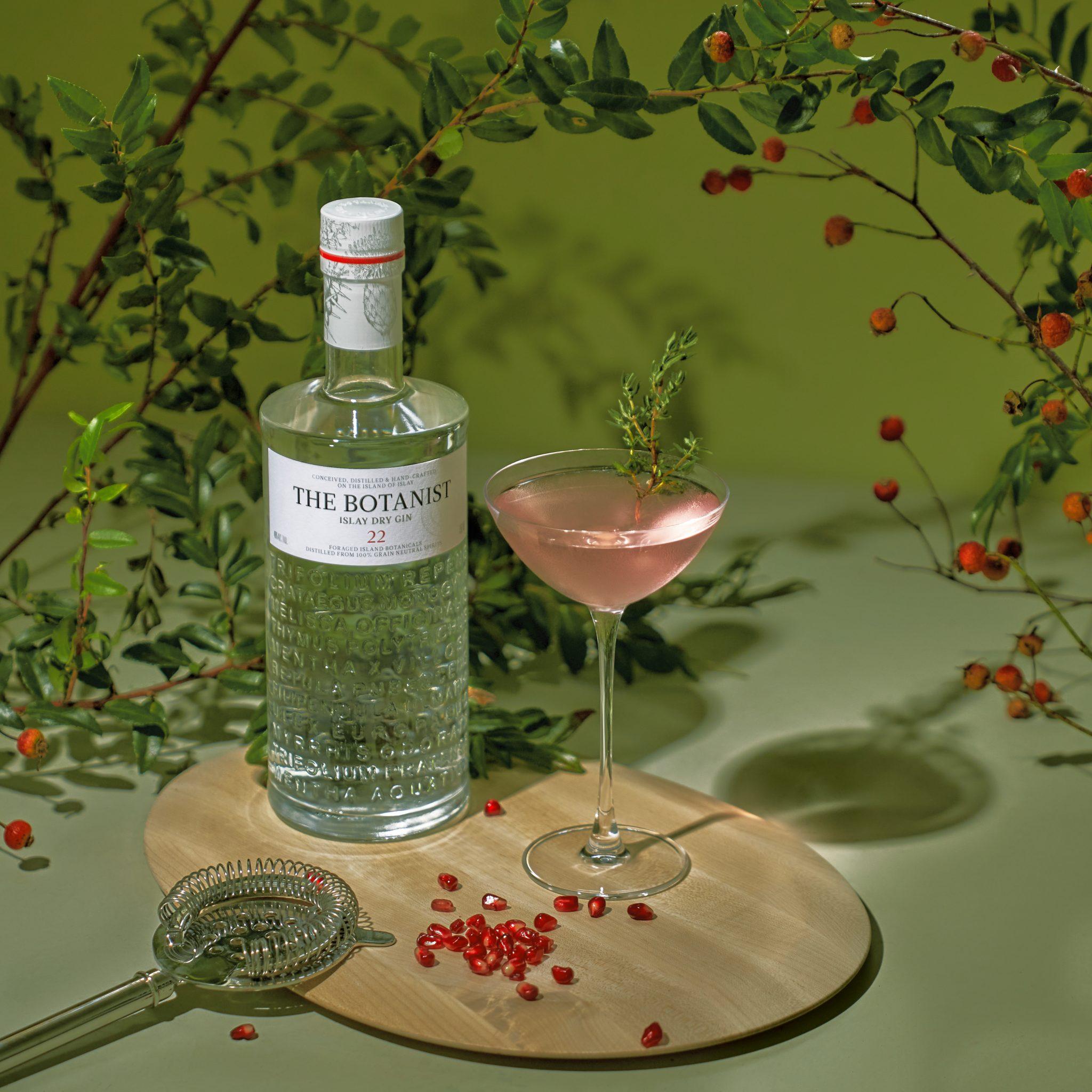 Valentine's cocktails ideas Pomegranate Martini