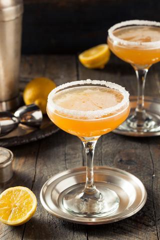 Valentine's cocktails ideas royal sidecar