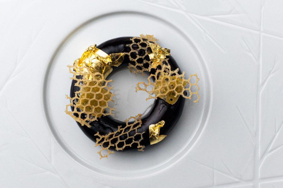 Michelin star winners SOLA restaurant in Soho