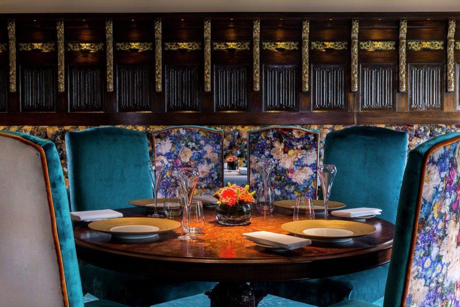 Michelin star winners Latymer restaurant at Pennyhill Park