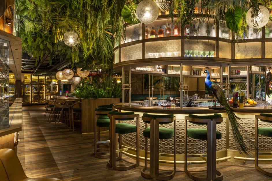 beautiful restaurants Amazonica London