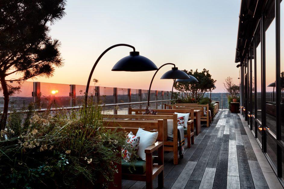 beautiful restaurants UK Treehouse Hotel