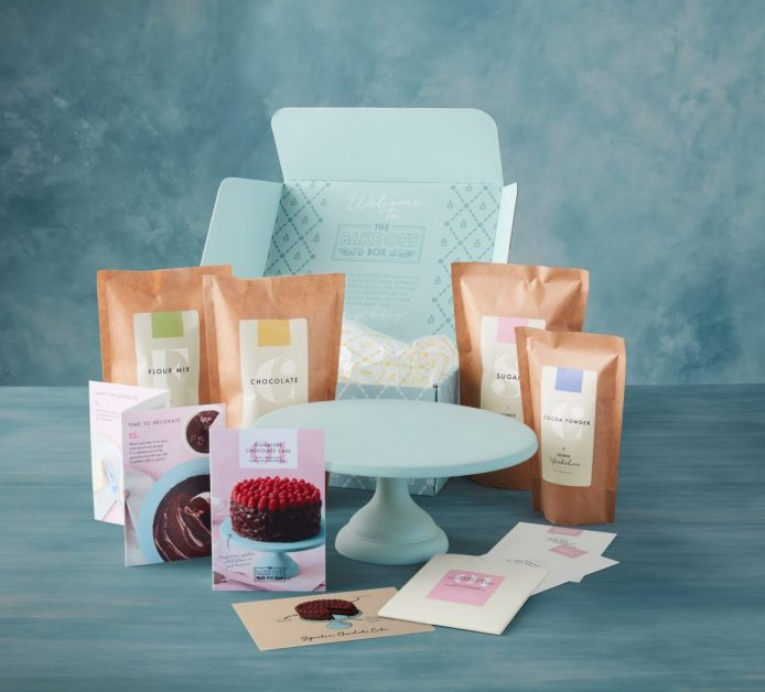 Bake Off Box subscription Mother's Day gifts
