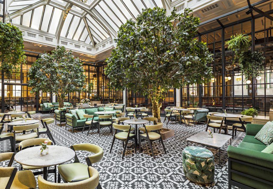 beautiful restaurants the winter garden at Kimpton Clocktower Hotel Manchester