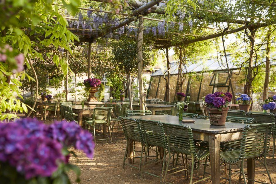 beautiful restaurants UK Petersham Nurseries