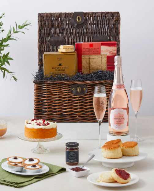 Afternoon Tea Hamper Marks and Spencer Mothers Day gifts