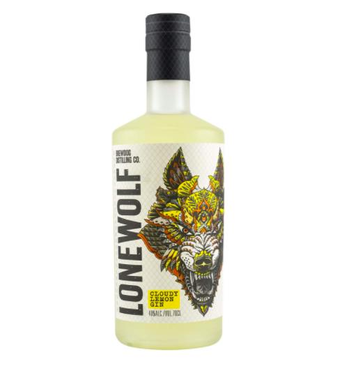 Lonewolf Cloudy Lemon Gin