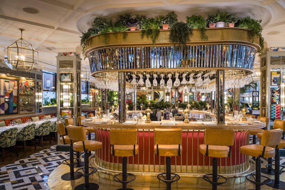 beautiful restaurants The Ivy Manchester
