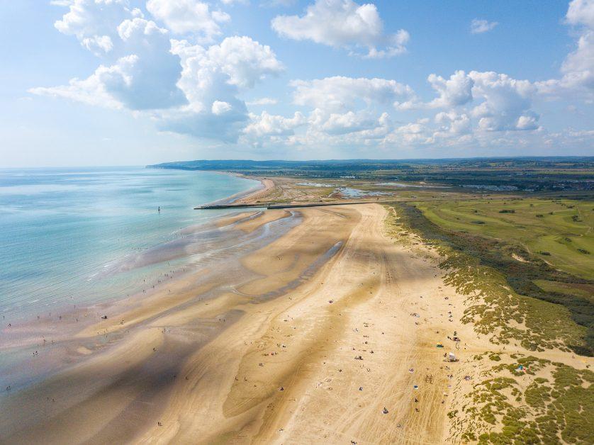 Camber Sands UK best beaches