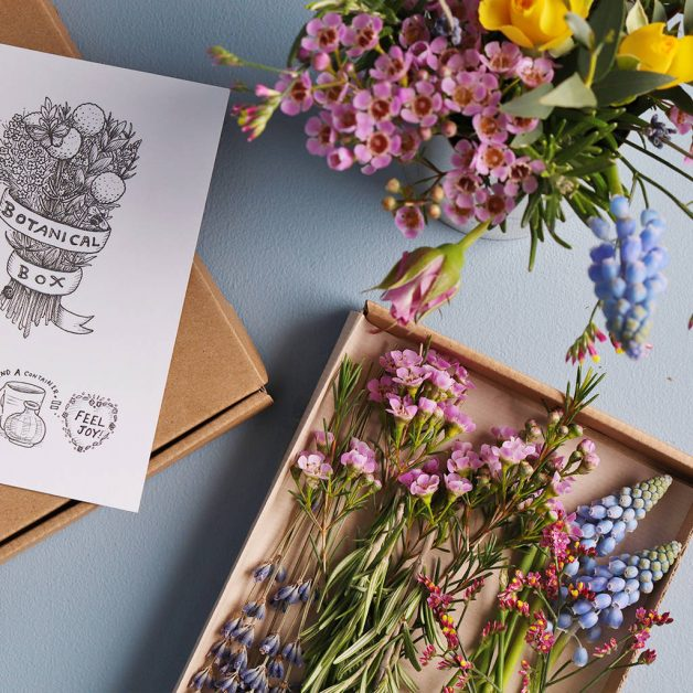 Botanical Flower Box Mother's Day Gifts