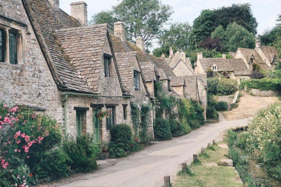 Prettiest villages UK Bibury