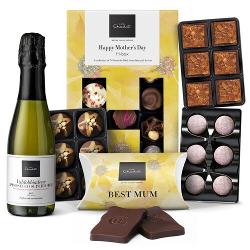 Hotel Chocolat Mother's Day Champagne Collection