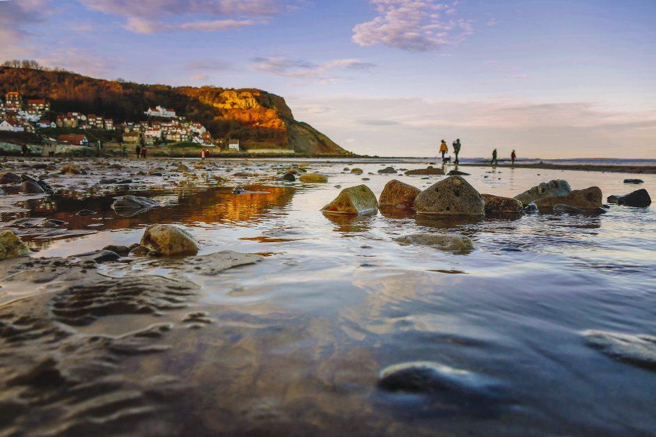 best sandy beaches in the UK Runswick Bay, North Yorkshire