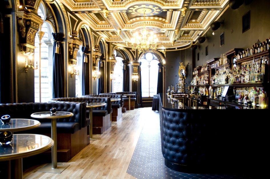 beautiful restaurants Voodoo Rooms Edinburgh