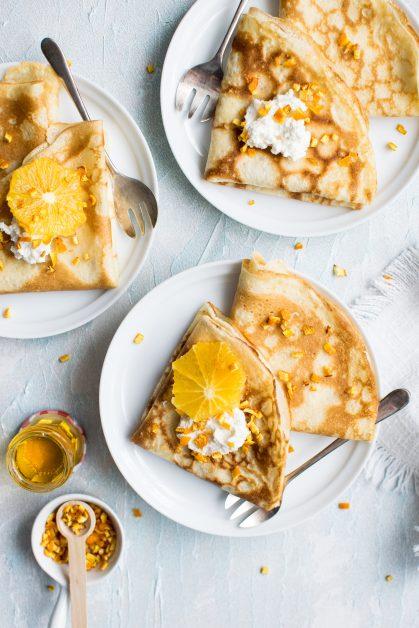 French pancake crepe