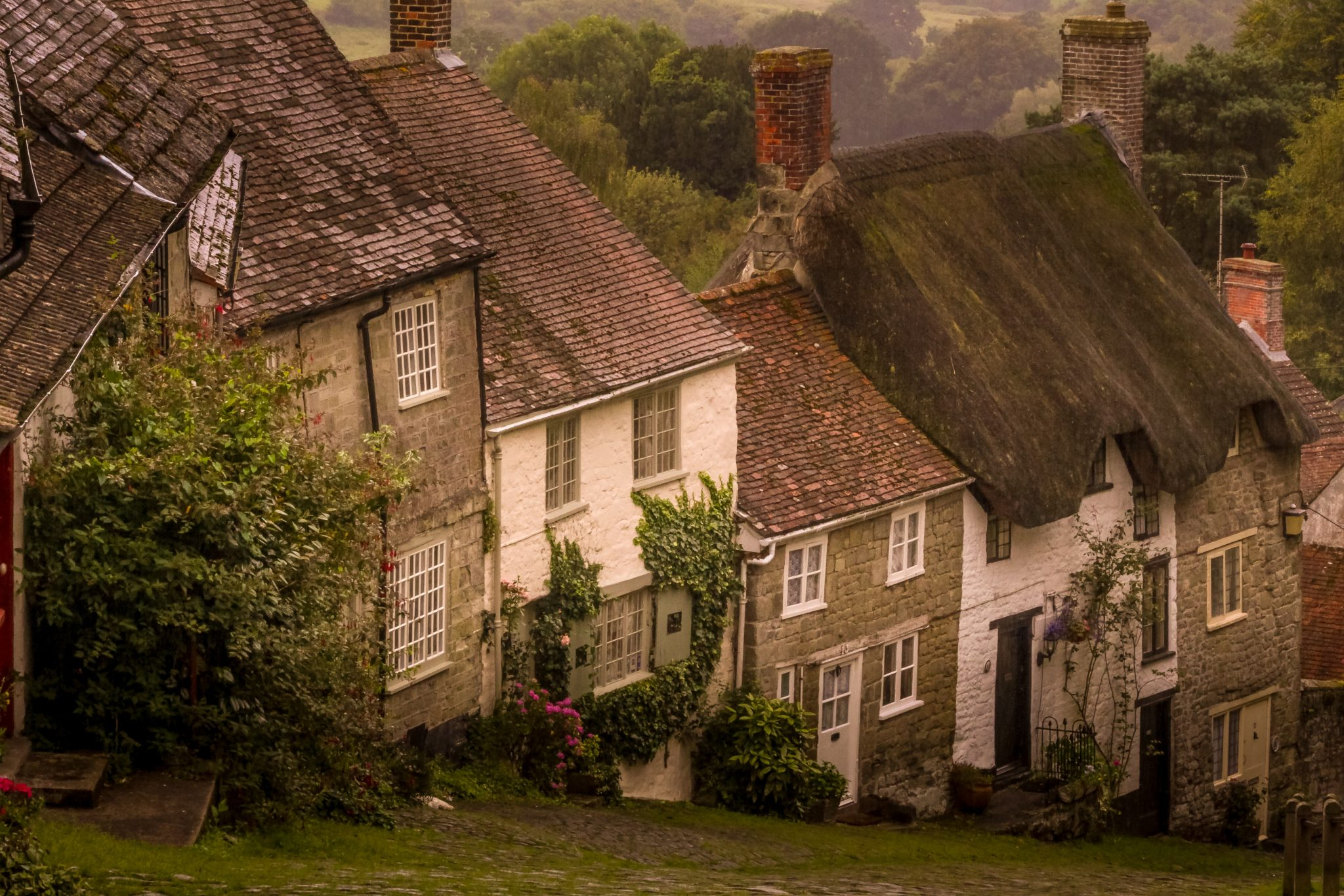 Prettiest villages UK Gold Hill Shaftesbury Dorset