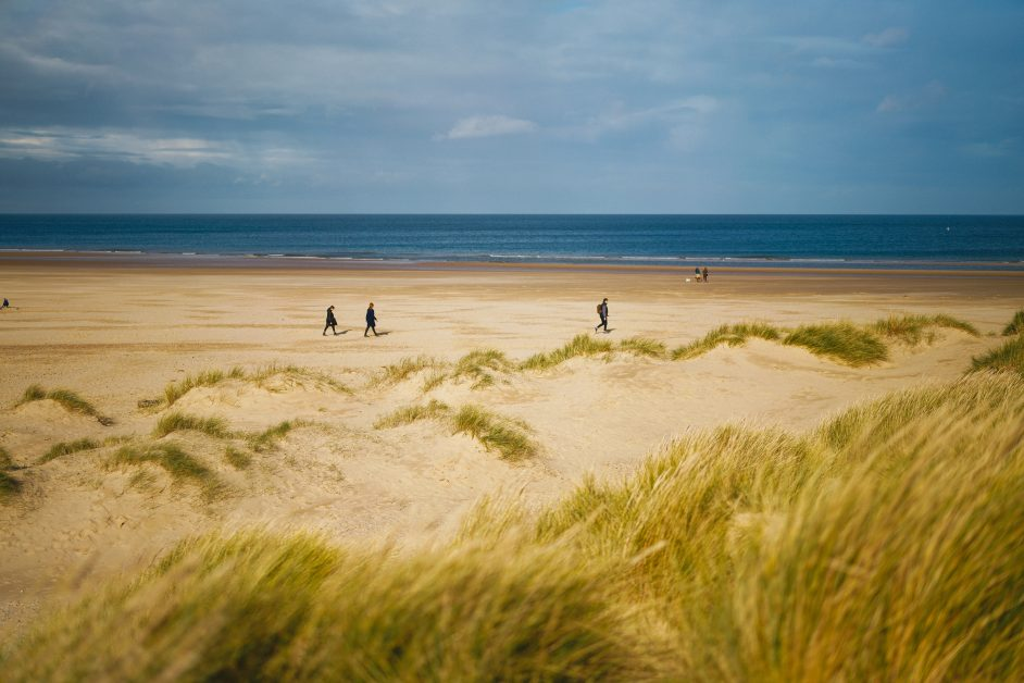 UK best beaches Holkham Beach Norfolk
