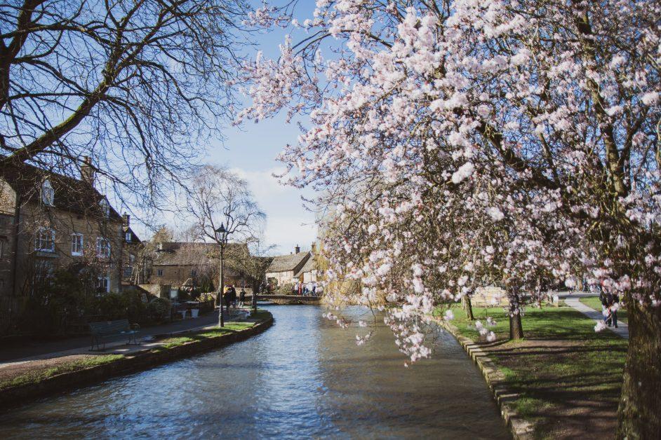 Prettiest villages UK Bourton-on-the-Water, Cheltenham