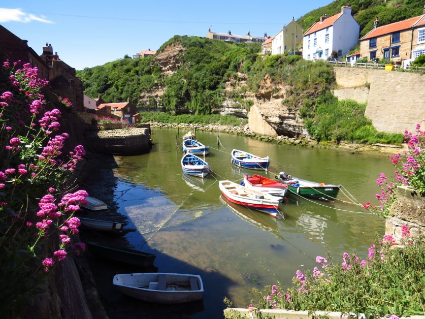 prettiest villages UK Staithes, Yorkshire